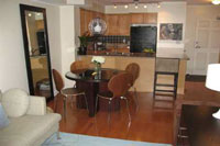 Dining Room and Kitchen at 245 Davisville